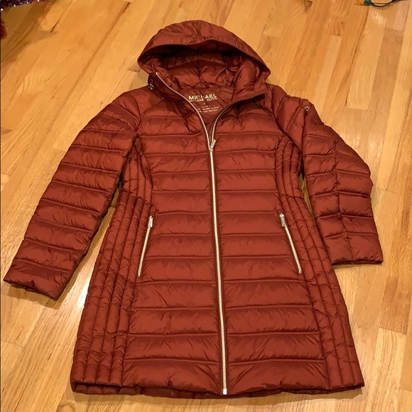 MICHAEL MICHAEL KORS Quilted Packable Puffer Coat